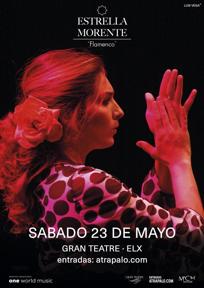 El mejor flamenco en el escenario con Estrella Morente