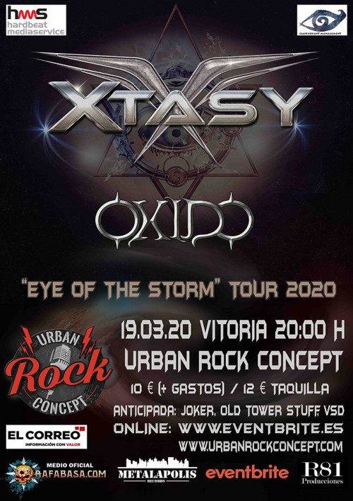 Entradas de XTASY, el mejor hard rock melódico